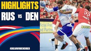 Russia vs. Denmark Highlights | Day 7 | Men's EHF EURO 2020