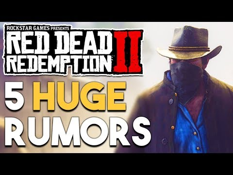 Red Dead Redemption 2 - Top 5 HUGE Gameplay Rumors!