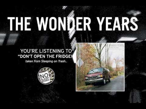 "The Wonder Years ""Don't Open The Fridge"" taken from Sleeping on Trash"