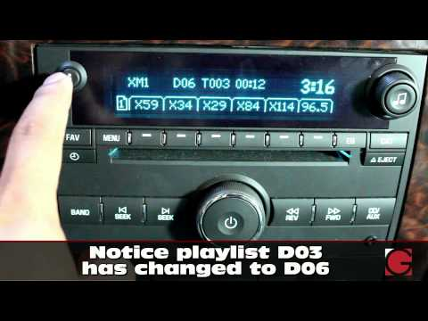 Chevrolet GMC Buick Saturn 2007 2012 GROMUSB2P Android USB Bluetooth and iPhone Car Kit  demo