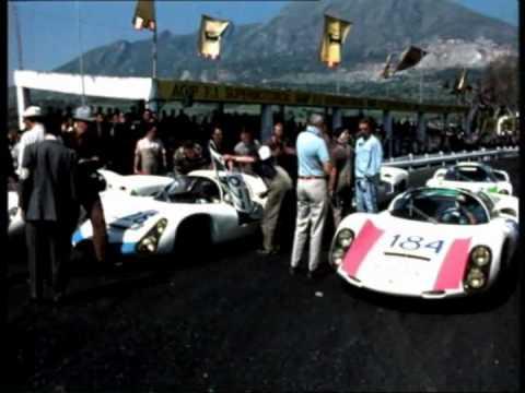 Targa Florio 1967 - Historisches Archivfilm Porsche.avi
