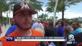 Saying goodbye to Jose Fernandez