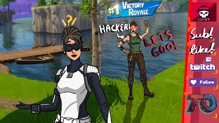 HACKER or GLITCH (Fortnite Battle Royale)