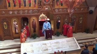 Divine Liturgy at St. Michael the ArchAngel Ukrainian Catholic Church April 7, 2013