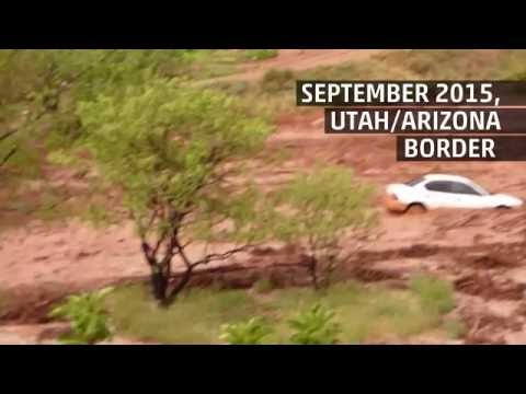 Deadly Flash Floods in Utah and Arizona