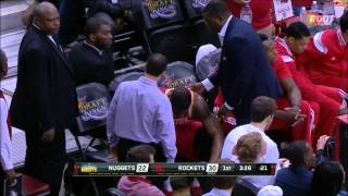Terrence Jones suffers a partially collapsed lung against Nuggets
