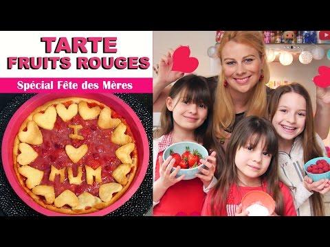 Tarte aux fruits Rouges [Ft.LévanahSolomon'sFamily] ♡ Virginie fait sa cuisine [77]