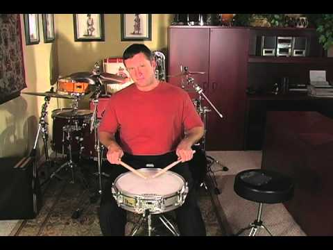 a fresh approach to snare drum lesson 12 c 8th note rolls in quarter time youtube. Black Bedroom Furniture Sets. Home Design Ideas