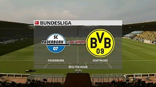 A simulation of the upcoming match in german bundesliga, sc paderborn vs borussia dortmund.#fifa20 #paderborndortmund #paderbornborussiadortmund #scpader...