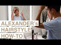 Men's Hair Tutorial - Alexander's Signature Hair Style