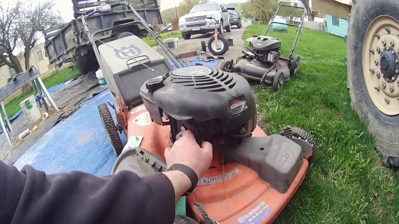 Mower Starts But Only Runs For A Second
