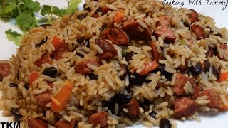 10 Minute One-Pot Rice And Beans Sausage Recipe