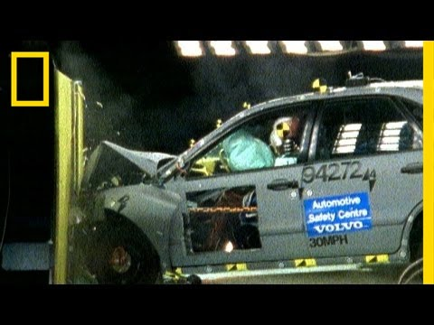 the history of crash test dummies and airbag safety in united states See a head on crash test with and without a safety belt and airbags video credit insurance institute for highway safety.