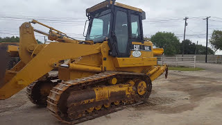 Operating Cat 963 Crawler Loader