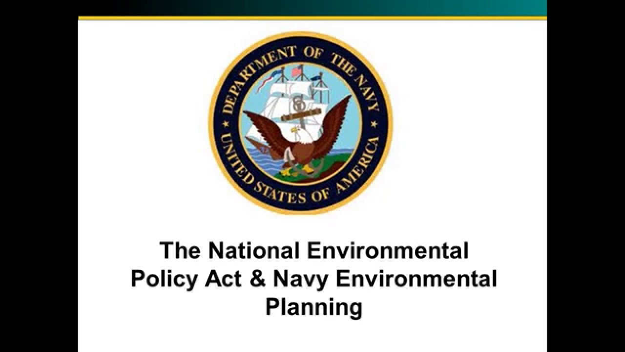 The U.S. Navy evaluates the potential effects of its proposed actions upon the environment with input from government stakeholders and the public as part of the National Environmental Policy Act (NEPA). This video, produced by Commander Navy Region Northwest, outlines the Navy's approach to the NEPA process.