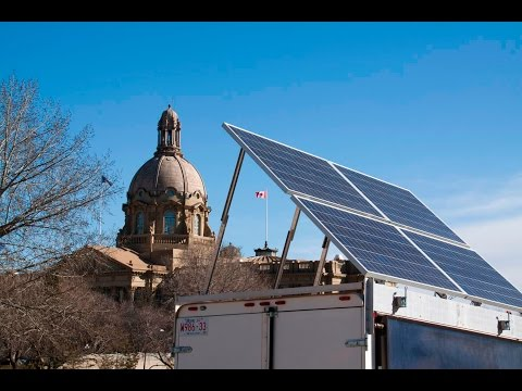 Alberta - A Renewable Energy Superpower? - The Solar Energy