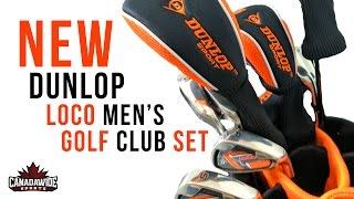 Inside Look: Dunlop's 2017 LoCo Men's Golf Club Set
