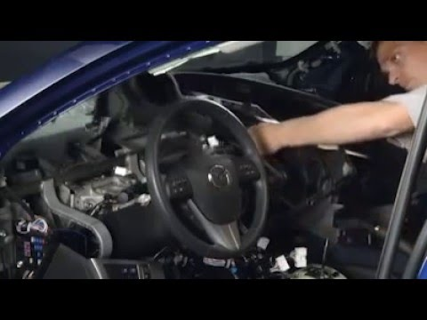 Mazda 3 Instrument Panel Removal - YouTube