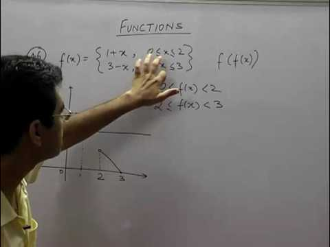 Composite Functions and questions based on it - Functions - Part 16