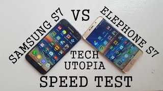Samsung S7 vs Elephone S7 speed test/comparison/gaming/Benchmarks(Flagship vs budget smartphone)