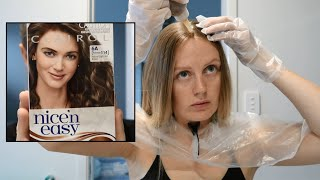 VLOG | Dying My Hair Light Ash Brown | Cherie Matthews