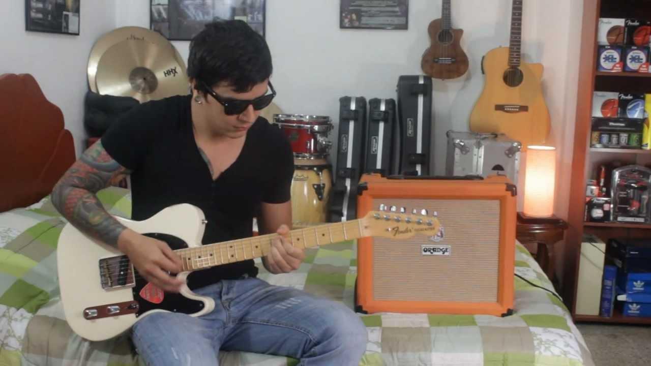 orange amplifiers crush pix cr35ldx youtube. Black Bedroom Furniture Sets. Home Design Ideas