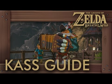 Zelda Breath of the Wild - Kass Guide (All Shrine Quests, Songs & Return to Rito Village)