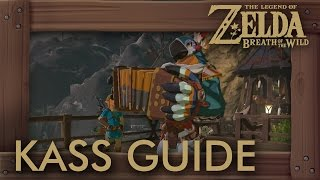 Zelda Breath of the Wild - Kass Guide (All Shrine Quests, Songs u0026 Return to Rito Village)