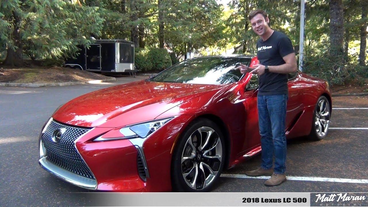 Review 2018 Lexus Lc 500 Youtube