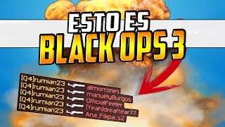 Vuelve... Esto es Call Of Duty: Black Ops 3 - V.14 ( quadfeed, 5 on screen y mas.. )