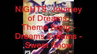 NiGHTS Journey of Dreams Music: Theme Song - Dreams Dreams - Sweet Snow
