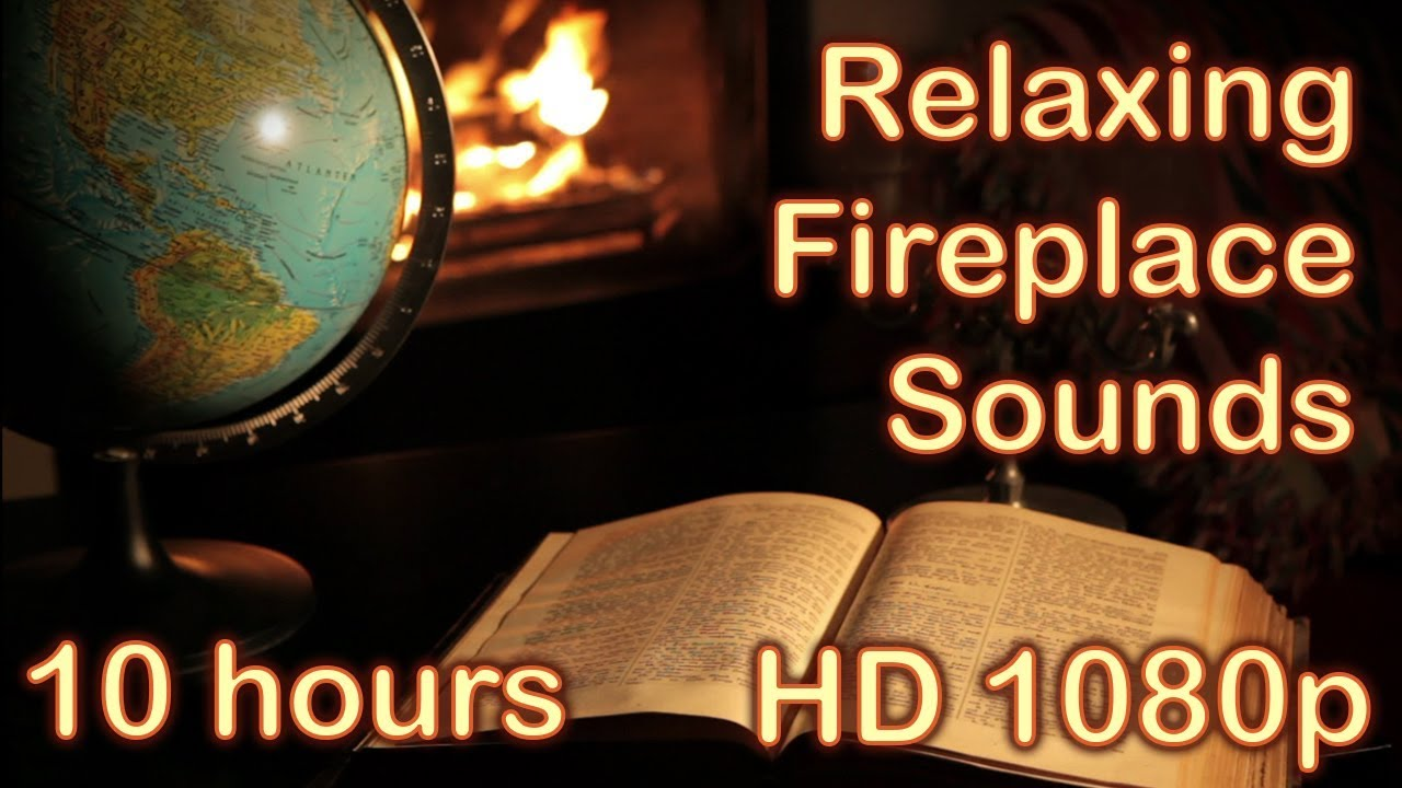 1080p video relaxing fireplace sound huawei p9