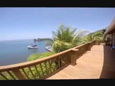 Roatan Honduras Water Front Home For Sale