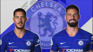 How Hazard And Giroud Help Each Other | Chelsea Tactical Analysis