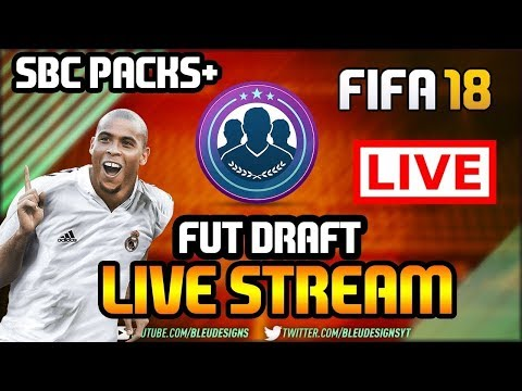 FIFA 18 | CHILL FUT DRAFT LIVE STREAM! - TALKING TO CHAT - ELITE FUT CHAMPIONS PLAYER