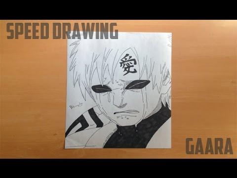 Speed Drawing - Sad Gaara