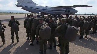 Российские военнослужащие из Сирии возвращаются домой
