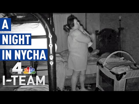 What a Night in NYC Public Housing Is Like For One Family | NBC 4 I-Team