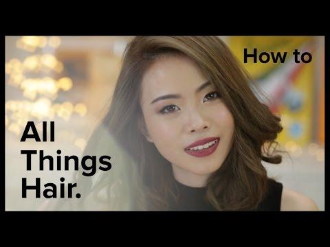 4 ทรงผมสั้นประบ่าใน 2 นาทีกับ Jane | All Things Hair - How To
