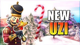 "NEW ""MINI UZI"" MACHINE PISTOL LEAKED! In Fortnite Battle Royale"