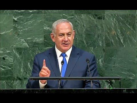 Powerful UN Speech By Israel's Prime Minister Benjamin Netanyahu