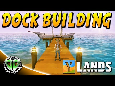 Dock Building & Starting the Harbor : YLands Gameplay : PC Early Access Best Creations