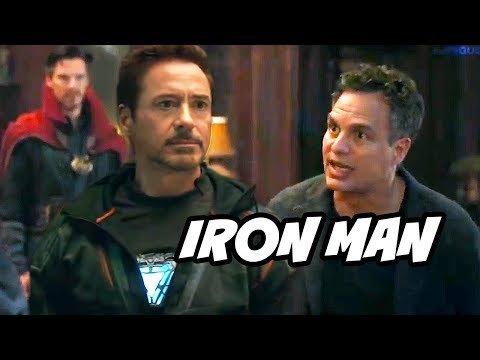 Avengers Infinity War Hulk Warns Iron Man and Doctor Strange Scene Breakdown