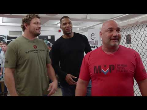Bellator 207: Michael Strahan reunites with Matt Mitrione