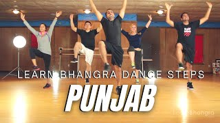 How to Do Bhangra - Punjab (Bhangra Style) | Learn Bhangra | Learn Bhangra App