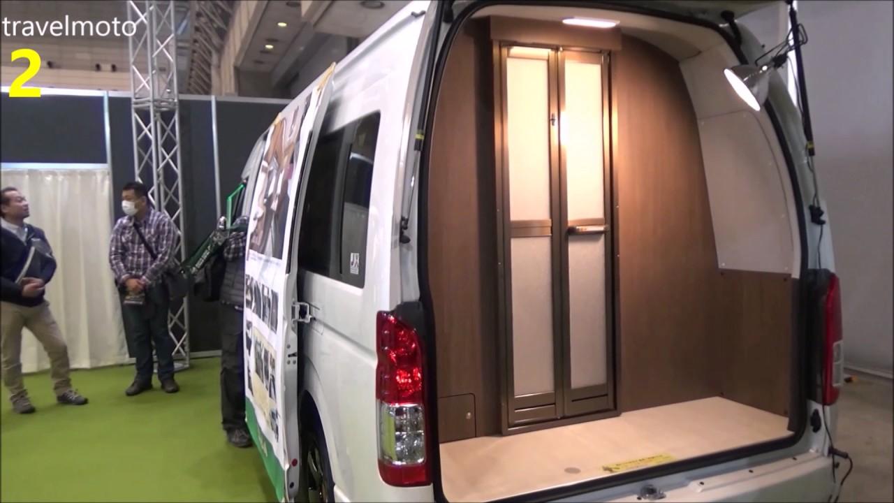 Toyota HiAce CamperVans BEC VEE 2017 キャンピングカー