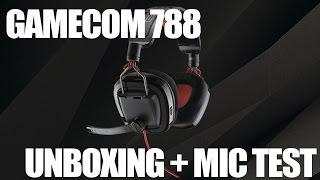 (Unboxing + test micro) Plantronics Gamecom 788 (FR)