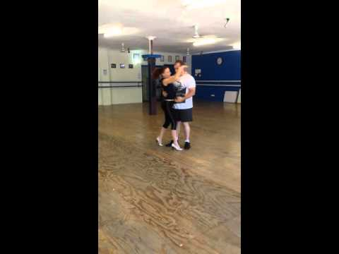 Rehearsals for our first dance to Nat King Cole's L.O.V.E