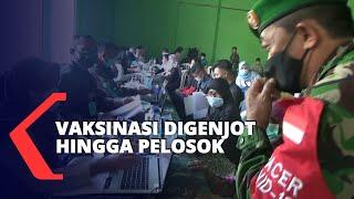 Capaian Vaksinasi Rendah, TNI AD Perluas Vaksinasi Hingga Pelosok