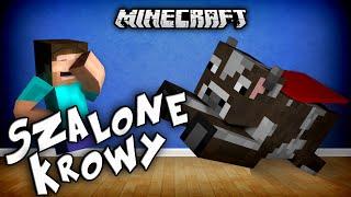 SZALONE KROWY W MINECRAFT?! - Crazy Cows Mod!